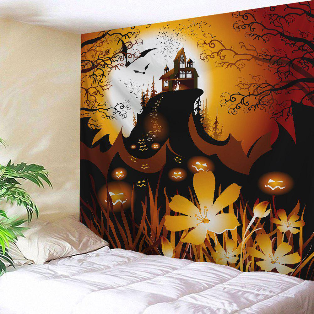 Wall Hanging Halloween Themed Throw Tapestry wall hanging watercolor space throw tapestry