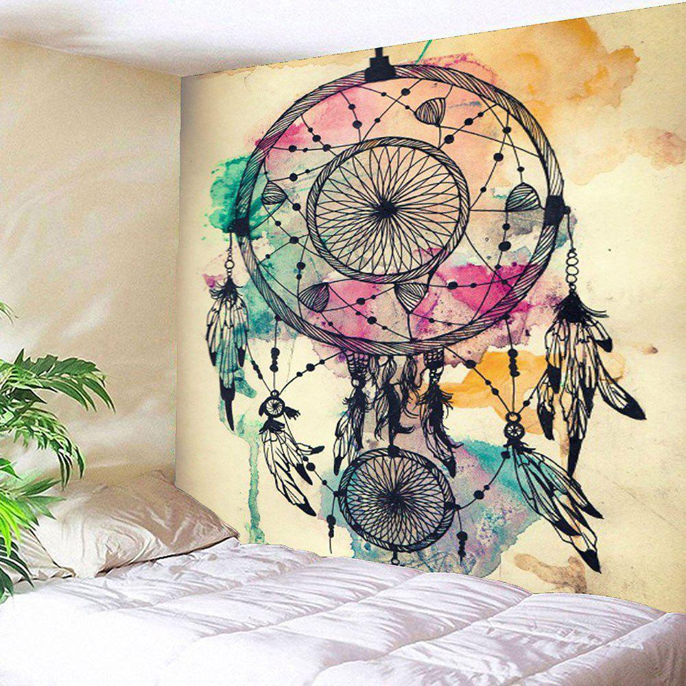 Dreamcathcer Print Waterproof Wall Tapestry