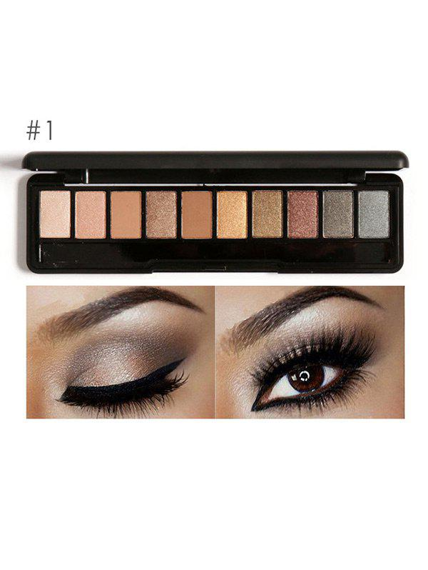 Earth Color Smoky Eyeshadow Palette -