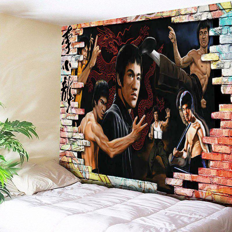 Wall Hanging Bruce Lee Kung Fu Dragon Tapestry lauren holly signed autographed dragon the bruce lee story glossy 8x10 photo coa matching holograms