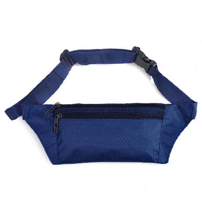 Nylon Light Weight Sport Wasit Bag - Bleu Foncé