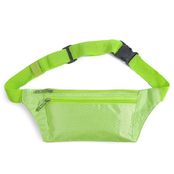 Nylon Light Weight Sport Wasit Bag - Vert