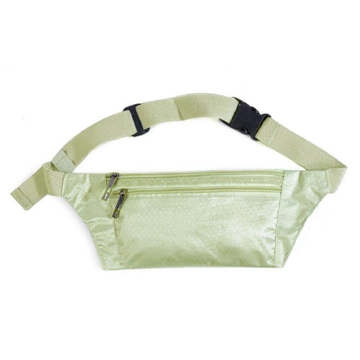 Nylon Light Weight Sport Wasit Bag - Argent