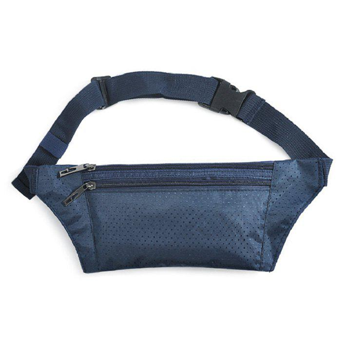 Nylon Light Weight Sport Wasit Bag - Bleu Cadette
