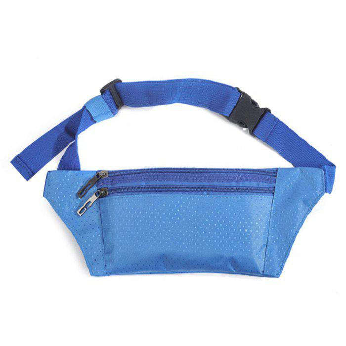 Nylon Light Weight Sport Wasit Bag - Azur