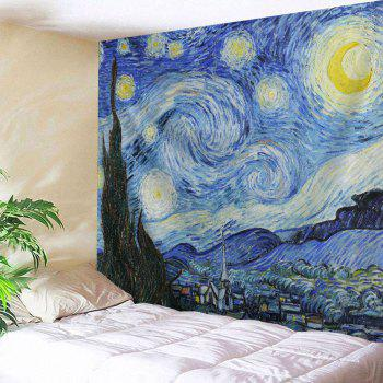 Wall Hanging Watercolor Space Throw Tapestry