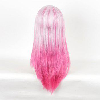 Colormix Long Straight Guilty Crown Inori Yuzuriha Cosplay Anime Wig -  PINK
