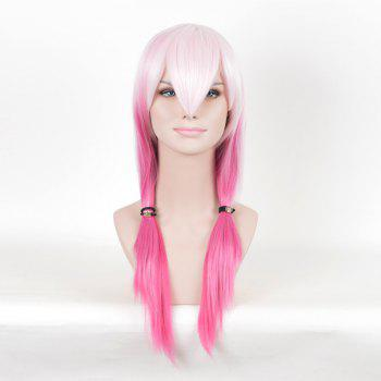Colormix Long Straight Guilty Crown Inori Yuzuriha Cosplay Anime Wig