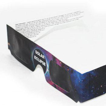Protection UV Safe Solar Eclipse Shades Glasses - TEXTURE D'ETOILE