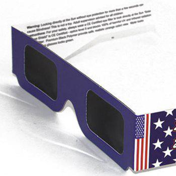 UV Protection Safe Solar Eclipse Shades Glasses -  BLUE
