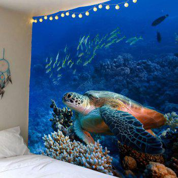 Turtle Ocean Fish Wall Tapestry