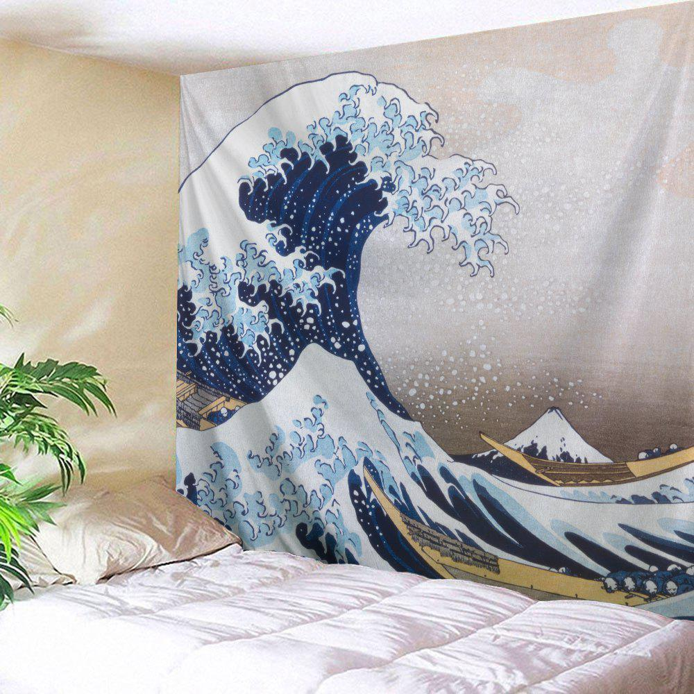 Wall Hanging Beach Throw Fabric Surge Tapestry wall hanging watercolor space throw tapestry