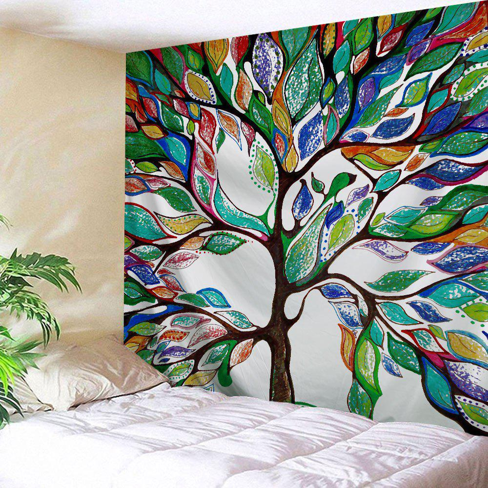 Tree of Life Wall Hanging Fabric Tapestry For Dorm  the hanging tree
