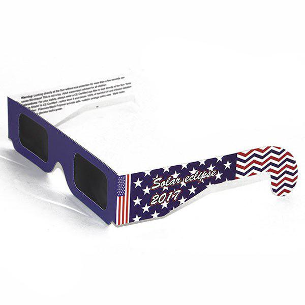 Protection UV Safe Solar Eclipse Shades Glasses - Bleu