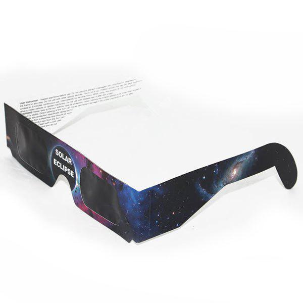 UV Protection Safe Solar Eclipse Shades Glasses - STARRY SKY PATTERN