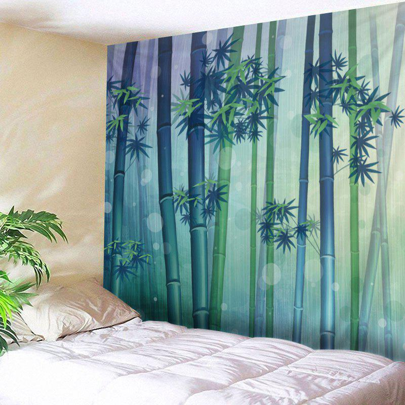 Wall Hanging Art Bamboo Forest Print Tapestry forest wooden bridge print tapestry wall hanging art