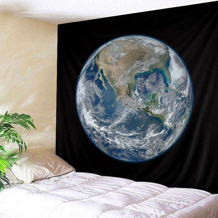 Image of Wall Hanging Art Earth Planet Print Tapestry