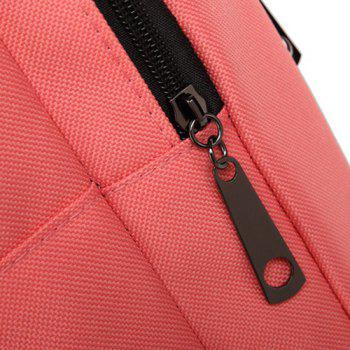 Casual Padded Strap Backpack - PINK