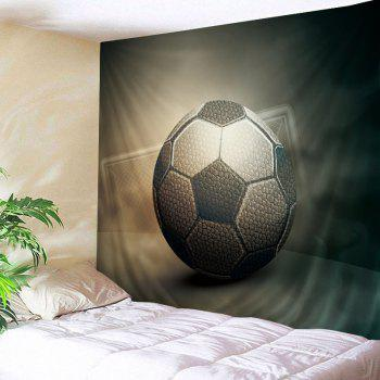 Soccer Print Tapestry Wall Hanging Art Decor