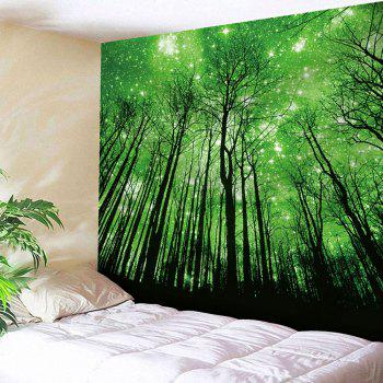 Grove Pattern Wall Hanging Microfiber Tapestry
