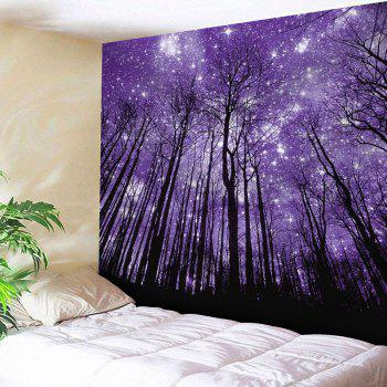 Microfiber Wall Hanging Grove Pattern Tapestry