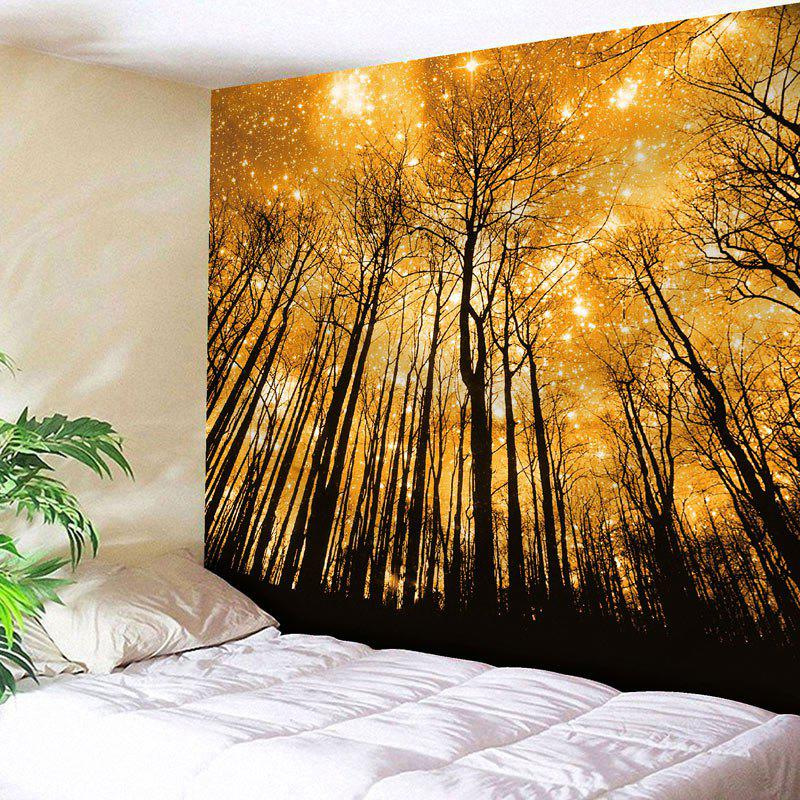 Microfiber Wall Hanging Golden Grove Tapestry sunshine grove wall blanket hanging tapestry