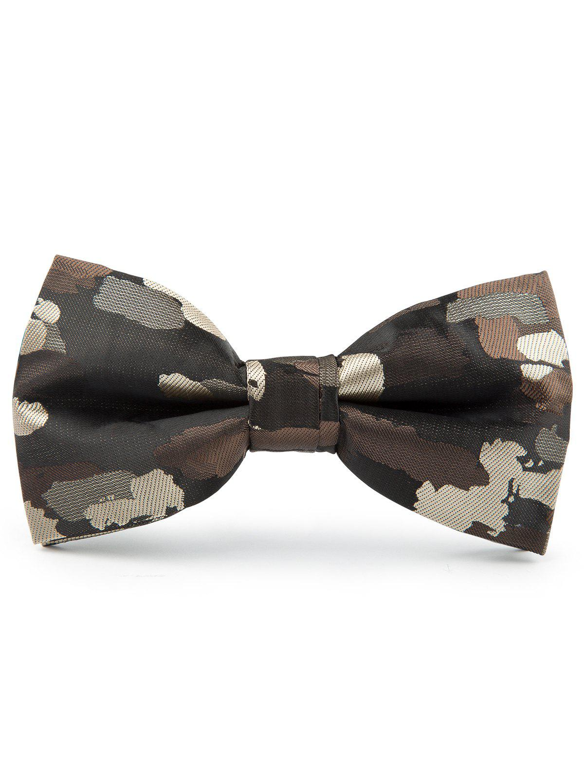 Jacquard Artificial Silk Bow Tie - Bis