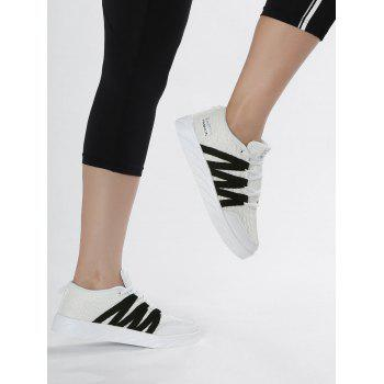 Breathable Mesh Skate Shoes - 40 40