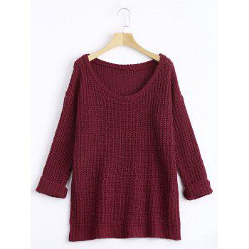 Knit Casual Chunky Sweater