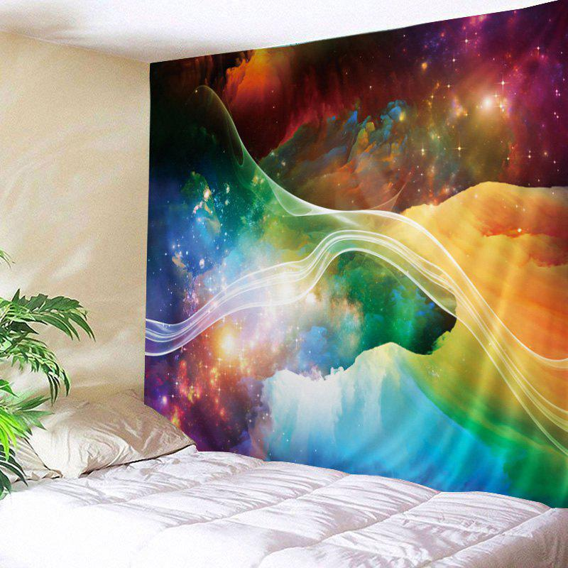 Wall Hanging Art Colorful Starry Print Tapestry wall hanging art decor colorful starry print tapestry