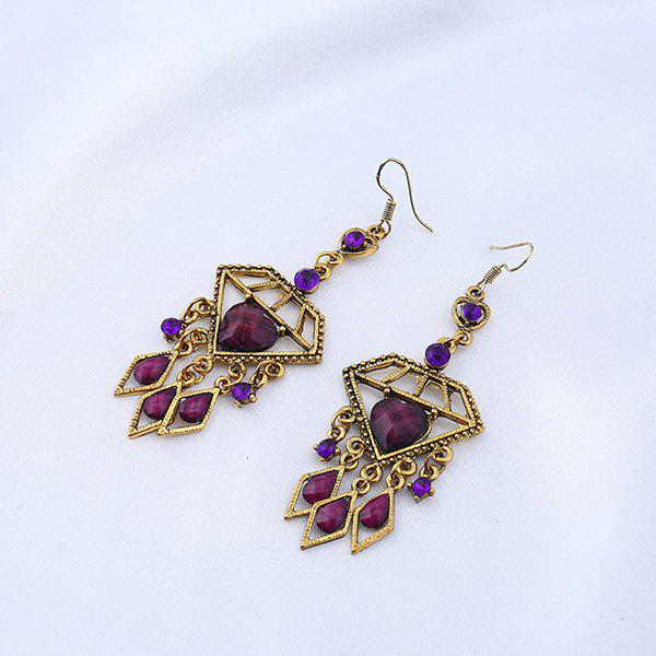 Rhinestone Chandelier Heart Teardrop Earrings floral rhinestone teardrop earrings