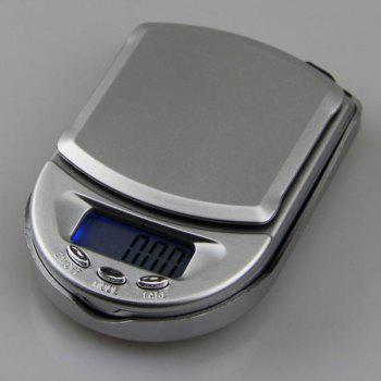 High Precision LCD Electronic Scale -  SILVER