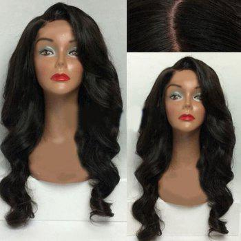 Side Parting Long Body Wave Synthetic Wig