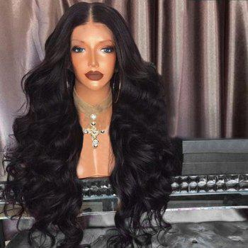 Middle Part Fluffy Loose Wave Long Synthetic Wig