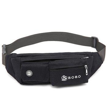 Running Canvas Waist Bag