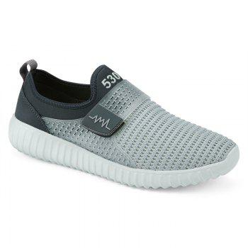 Figure Pattern Breathable Casual Shoes