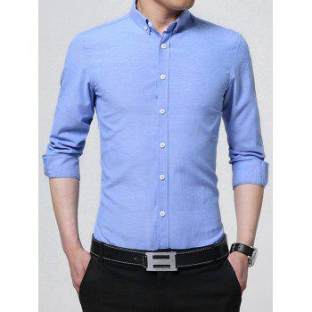 Long Sleeve Button Down Business Shirt
