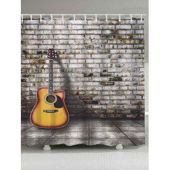 HD Wallpapers Guitar Shower Curtain