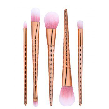 Wave Tapered Handle Makeup Brushes Set