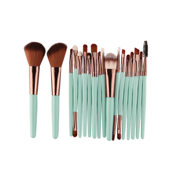 18Pcs Multipurpose Facial Makeup Brushes Set