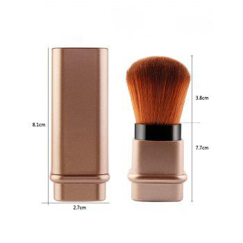 Multifunction Square Telescopic Tube Blusher Brush -  ROSE GOLD