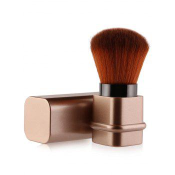 Multifunction Square Telescopic Tube Blusher Brush - ROSE GOLD ROSE GOLD