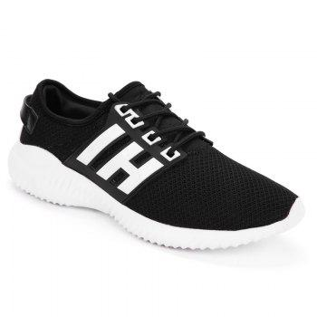 Sports Color Block Breathable Sneakers