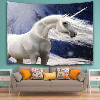 Wall Decoration Fabric Unicorn Tapestry - COLORMIX W51 INCH * L59 INCH