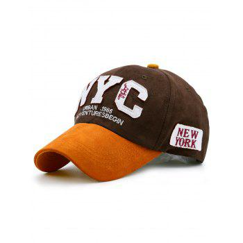 Color Block NYC Baseball Hat