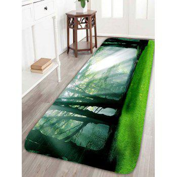 Sunshine Forest Waterproof Antiskid Rug