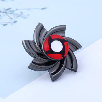 Pinwheel Shape Fidget Spinner Adjustable Finger Ring