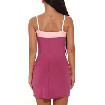 Color Block Cami Bodycon Mini-robe - Frutti de Tutti S
