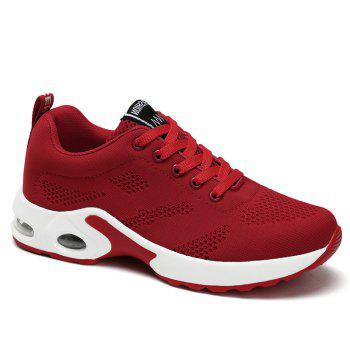 Air Cushion Breathable Mesh Athletic Shoes