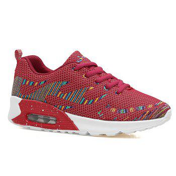 Embroidery Line Air Cushion Athletic Shoes